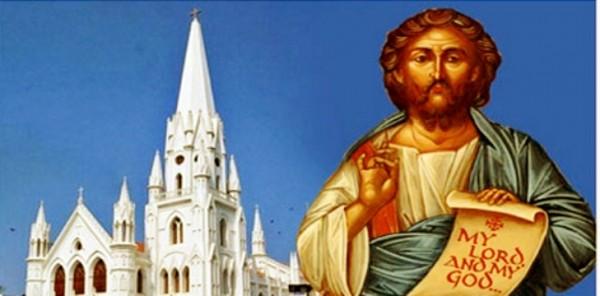 St Thomas church Mylapore