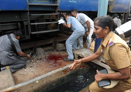 Chennai train blast