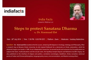 Announcing IndiaFacts webinar with Koenraad Elst