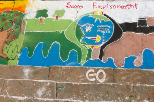 Poster for saving environment