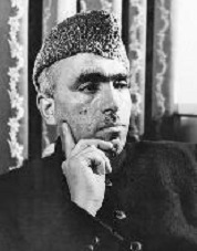 ... <b>Sheikh Abdullah</b> launched in May 1946, the 'Quit Kashmir' campaign. - Atma-Jyoti-Ashram-Priests6