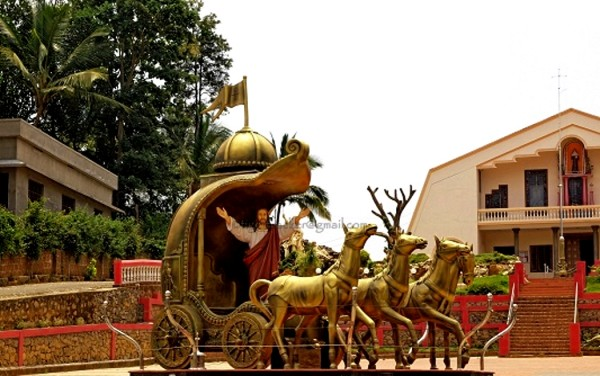 Christ in Hindu Chariot