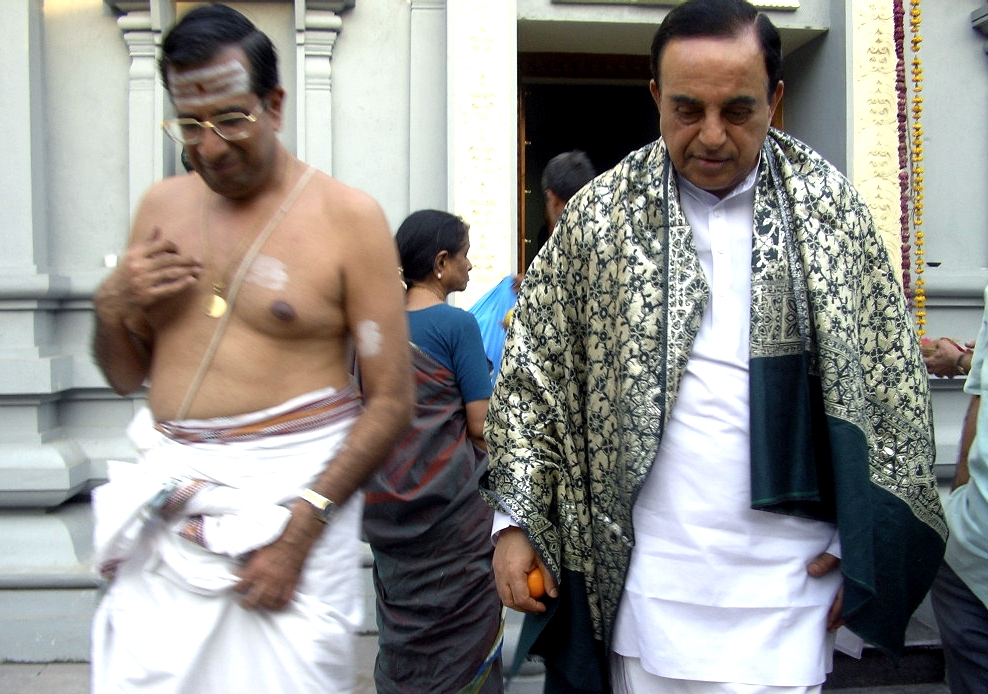 Subramanian Swamy A Hindu Fighter Everyone Fears