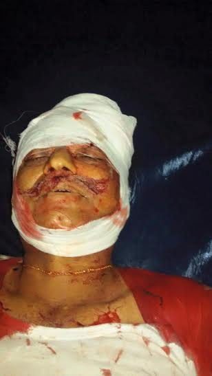 Figure 1Photo of VHP Leader Sri Kuttappa who died due to stone pelting