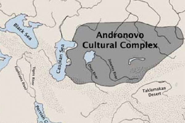 Andronovo-cultural-complex-map