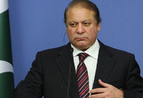 Pakistan's Prime Minister Nawaz Sharif.