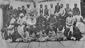 "Arya samaj and Shuddi of Non Hindu students.Picture taken from R.V.Russells's ""The Tribes and Castes of the Central Provinces of India""(1916)"