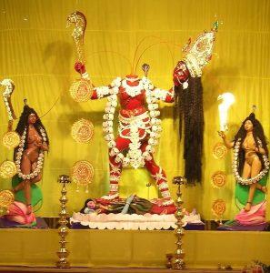 Idol Of Goddess Chinnamasta, Rajrappa, Jharkhand.