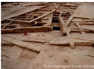 Bhirrana, the oldest known Harappan site, is at least 9,500 years old.