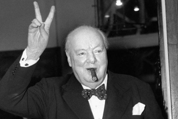 Holocaust Bengal famine Winston Churchill cigar
