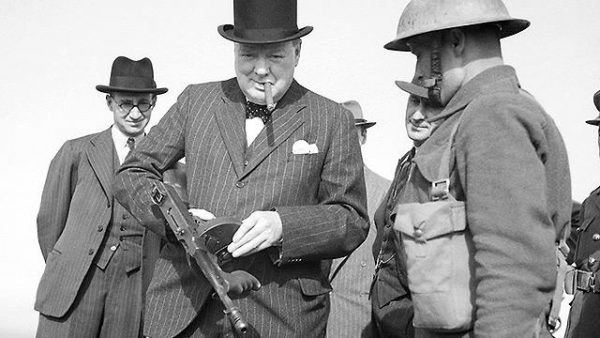 Winston Churchill genocide war crime racist