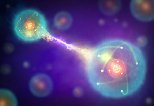 Abhasa Yoga Vashista Quantum Entanglement