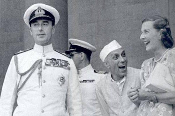 British Role in Partition Nehru Edwina Churchill