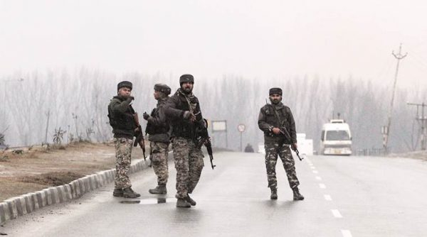 Armed Forced Pulwama Kashmir