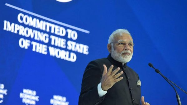 Hindu Nationalism Modi Worl Economic Forum