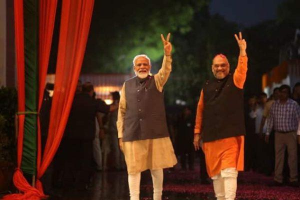 From a Falsehood, Anything Modi Amit Shah