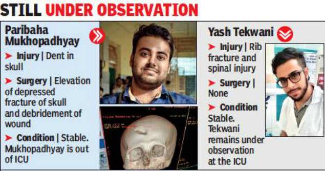 Muslim mob attacks doctors NRS Paribaha Mukhopadhyay Yash Tekwani