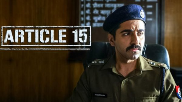 Bollywood's Article 15