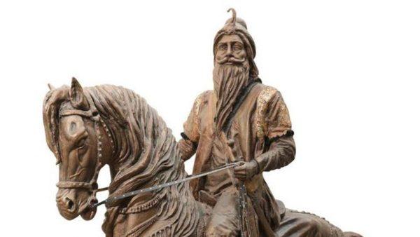 Ranjit Singh Statue Lahore Pakistan