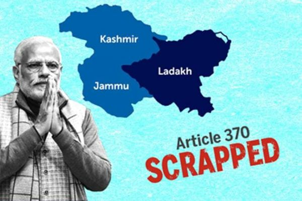 Article 370 35A Scrapped Revoked Kashmir