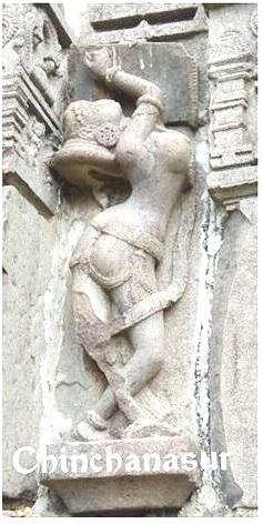 Yoga as a prelude to Svadhyaya in sculptures 3 - Chinchanasur