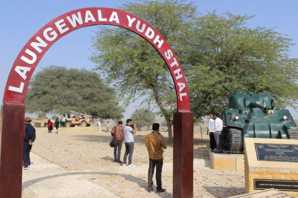 The site of the Battle of Longewala which took place on December 4 and 5, 1971.